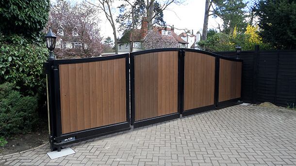 Bi Folding Gates Portcullis Gate Automation